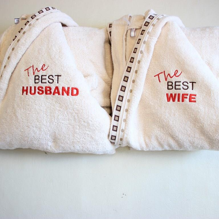 ХАЛАТИ THE BEST HUSBAND & WIFE